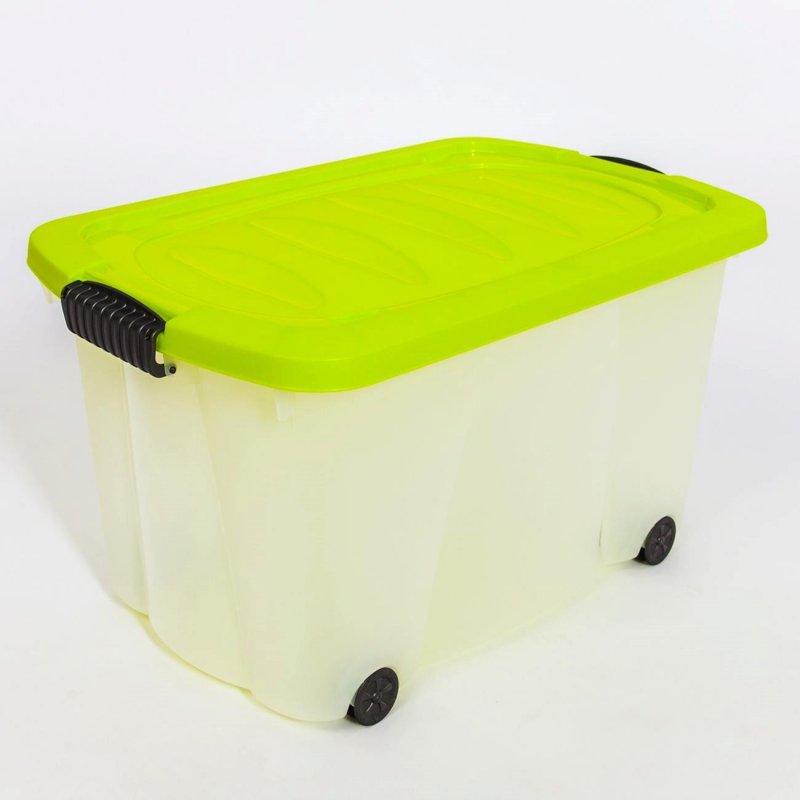 aufbewahrungsbox mit deckel 60 l 11 90 schn ppchenriese24. Black Bedroom Furniture Sets. Home Design Ideas