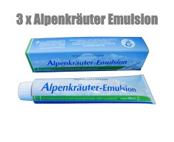 3er Pack Lloyd Alpenkräuter Emulsion 200ml - ORIGINAL !