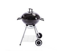 Grill Kugelgrill Holzkohlegrill XXL Grillwagen Standgrill...